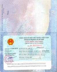 Thủ tục xin giấy miễn visa 5 năm cho người nước ngoài sang Việt Nam