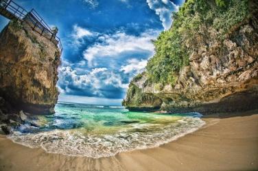 Những bãi biển đẹp ở Bali, Indonesia còn hoang sơ